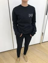 Christian Dior Crew Neck Sweat Long Sleeves Plain Hoodies & Sweatshirts