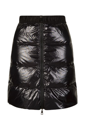 MONCLER Short Casual Style Plain Skirts