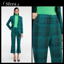 Sfera Glen Patterns Casual Style Cropped & Capris Pants