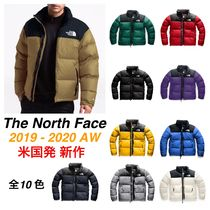 THE NORTH FACE Nuptse Street Style Bi-color Khaki Down Jackets