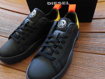 DIESEL Leather Sneakers