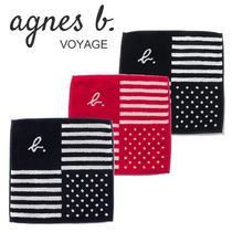 Agnes b Stripes Handkerchief