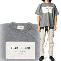 FEAR OF GOD Street Style Collaboration Plain Short Sleeves T-Shirts