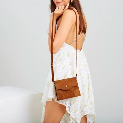 Plain Handmade Elegant Style Crossbody Small Shoulder Bag