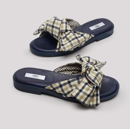 Other Plaid Patterns Rubber Sole Street Style Handmade
