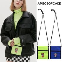 A PIECE OF CAKE Street Style Shoulder Bags