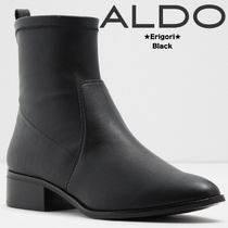 ALDO Rubber Sole Casual Style Street Style Plain Leather