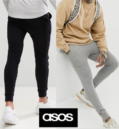 ASOS Unisex Sweat Street Style Plain Joggers & Sweatpants