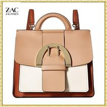 Zac Posen Casual Style Leather Crossbody Shoulder Bags