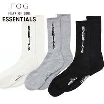 FEAR OF GOD ESSENTIALS Street Style Plain Undershirts & Socks