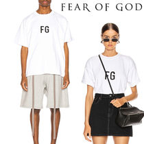 FEAR OF GOD Unisex Street Style Short Sleeves T-Shirts