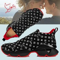 Christian Louboutin Blended Fabrics Street Style Sneakers