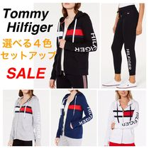 Tommy Hilfiger Casual Style Street Style Long Sleeves Plain Cotton Medium