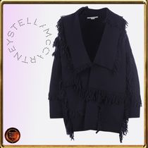 Stella McCartney Casual Style Wool Plain Fringes Jackets