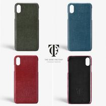 THE CASE FACTORY Plain Leather Handmade Smart Phone Cases