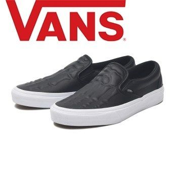 buy new product best loved VANS SLIP ON 2019-20AW Skull Casual Style Unisex Leather Low-Top Sneakers  (VN0A4BV3V9J )