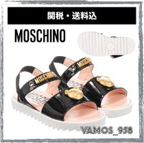 Moschino Street Style Kids Girl Sandals