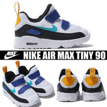Nike AIR MAX Unisex Blended Fabrics Street Style Kids Girl Sandals