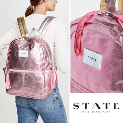 Casual Style Street Style A4 Backpacks