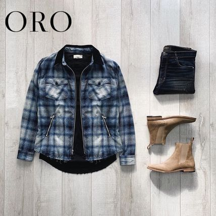 ORO LOS ANGELES More Jackets Other Plaid Patterns Jackets