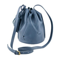 IL BISONTE Casual Style Plain Leather Shoulder Bags