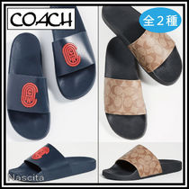 Coach Monogram Street Style Shower Shoes PVC Clothing