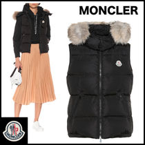 MONCLER Casual Style Street Style Plain Vests