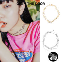 OPEN THE DOOR Casual Style Street Style Chain Brass Necklaces & Pendants
