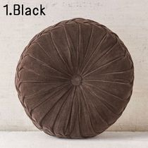 Urban Outfitters Unisex Plain Round Decorative Pillows