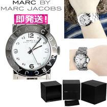 Marc by Marc Jacobs Studded Chain Metal Round Elegant Style Digital Watches
