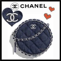 CHANEL MATELASSE Casual Style Bag in Bag Chain Plain Shoulder Bags