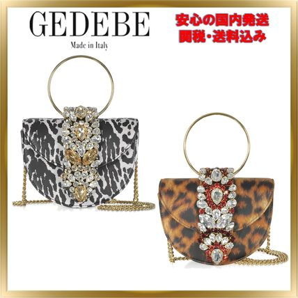Zebra Patterns Leopard Patterns Chain Leather With Jewels