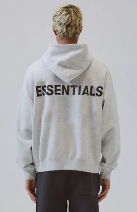 FEAR OF GOD Hoodies Pullovers Monogram Unisex Street Style Plain Oversized 8