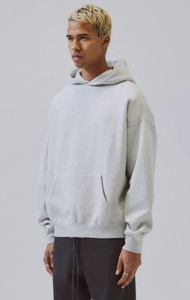 FEAR OF GOD Hoodies Pullovers Monogram Unisex Street Style Plain Oversized 9