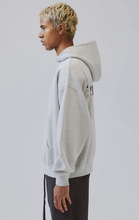 FEAR OF GOD Hoodies Pullovers Monogram Unisex Street Style Plain Oversized 10