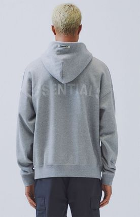 FEAR OF GOD Hoodies Pullovers Monogram Unisex Street Style Plain Oversized 11
