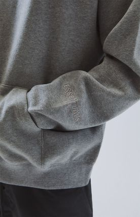 FEAR OF GOD Hoodies Pullovers Monogram Unisex Street Style Plain Oversized 12