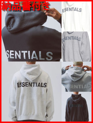 FEAR OF GOD Hoodies Pullovers Monogram Unisex Street Style Plain Oversized