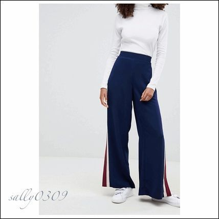 ASOS Side Line slit Wide pants