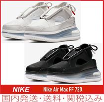 Nike AIR MAX 720 Platform Casual Style Street Style Plain Leather