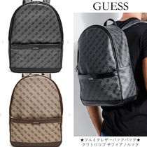 Guess Saffiano Backpacks