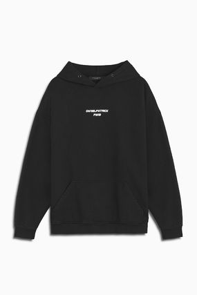 Long Sleeves Cotton Logo Hoodies