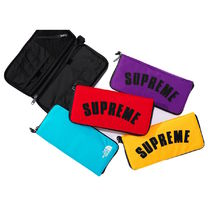Supreme Street Style Collaboration Long Wallets