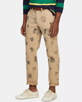 POLO RALPH LAUREN Printed Pants Patterned Pants