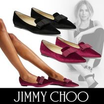 Jimmy Choo Velvet Other Animal Patterns Elegant Style Bold