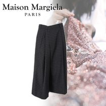 Maison Martin Margiela Other Check Patterns Casual Style Wool Blended Fabrics