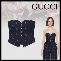 GUCCI Wool Elegant Style Tops