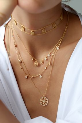 Casual Style Brass Necklaces & Pendants