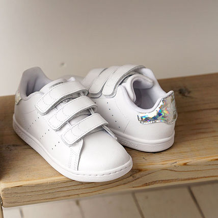 adidas STAN SMITH Unisex Street Style Dad Sneakers Baby Girl Shoes