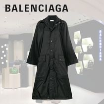 BALENCIAGA Bi-color Oversized Umbrellas & Rain Goods